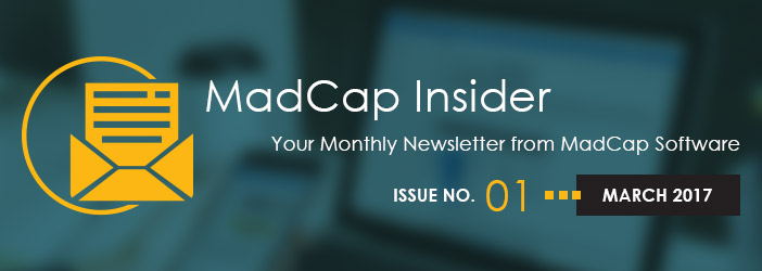MadCap Insider, Issue No. 1