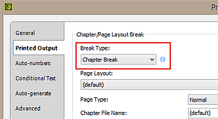 Creating Multiple Print Outputs