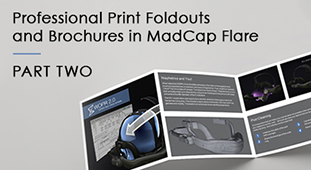 Brochures in MadCap Flare, part 2
