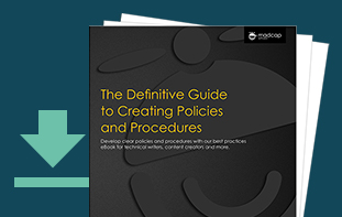 The Definitive Guide to Creating Policies and Procedures