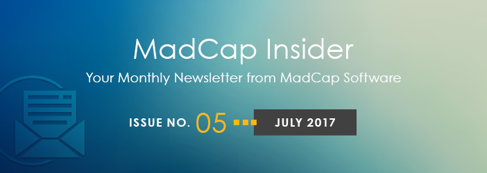 MadCap Insider, Issue No. 5, July 2017