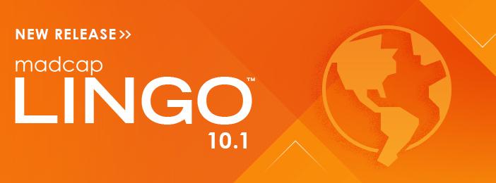New Release: MadCap Lingo 10.1