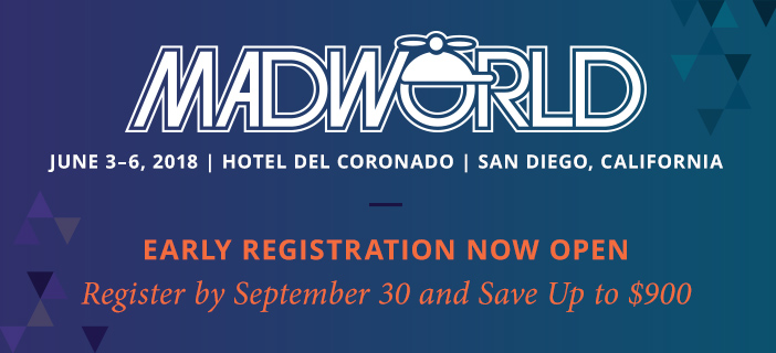 MadWorld 2018 Early Registration
