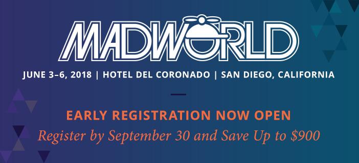 MadWorld 2018 Early Registration