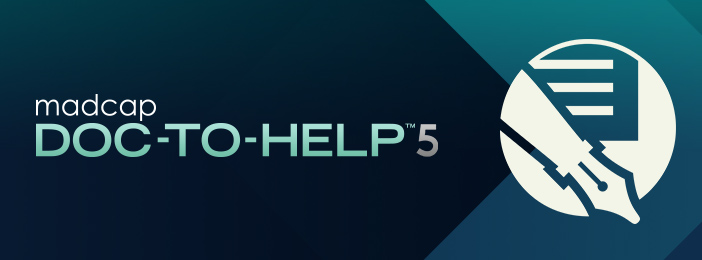 New Release: MadCap Doc-To-Help 5