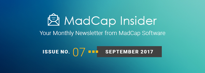 MadCap Insider, Issue No. 7, September 2017