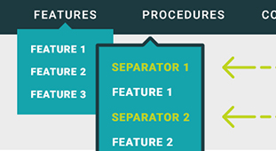How to Enhance Your Top Navigation Menus with Separators in MadCap Flare, by Brigitte Gagne