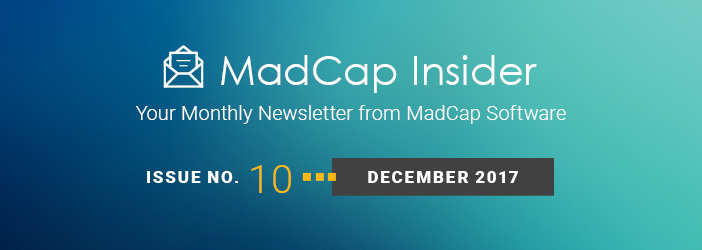 MadCap Insider, Issue No. 9, November 2017