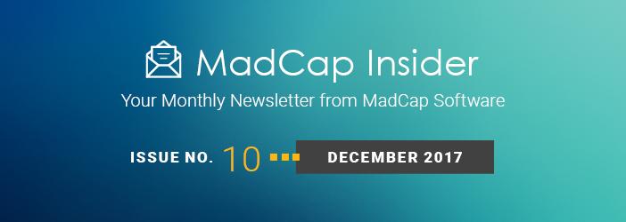 MadCap Insider, Issue No. 9, November 2017